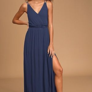 Lulus lost in paradise maxi dress